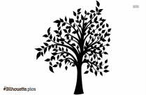 Willow Tree Art Symbol Silhouette