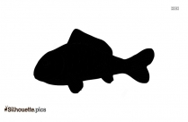 Free Fish Drawing Silhouette