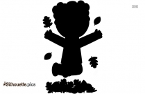 Girl Jumping Silhouette Picture