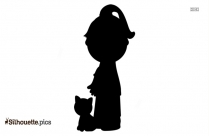 Baby Doll Clip Art Silhouette Black And White