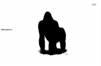 Cartoon Rhino Silhouette Vector And Graphics