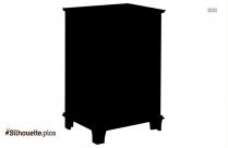 Elegant Table Vase Silhouette Picture