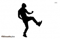 Dancing Girl Silhouette Clipart