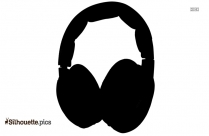 Wireless Headphones Silhouette