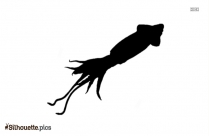 Jellyfish Silhouette Clipart