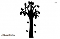 Branch Silhouette Illustration