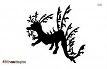 Black Emperor Tetra Silhouette
