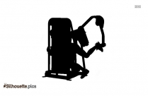 Physical Fitness Strength Silhouette Image