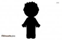 Black And White Man Clip Art Silhouette