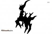 Mega Arceus Silhouette Picture