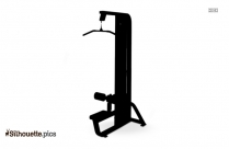 Hammer Strength Machine Silhouette Clipart