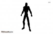 Cyrax From Mortal Kombat Silhouette Art