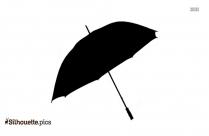 Umbrella Silhouette Clipart