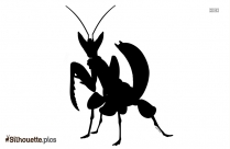 Giant Moth Silhouette Clipart