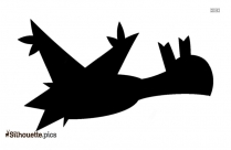 Mega Crobat Silhouette Image