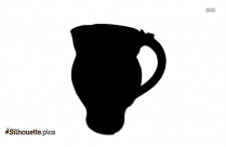 Beige Pottery Clipart Silhouette