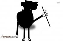 Cartoon Mice Silhouette Image