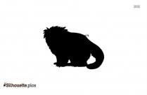Muskox Silhouette, Wild Animal Clipart