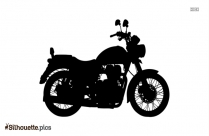 Royal Enfield Thunderbird Bike Silhouette Picture