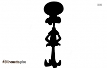 Squidward Girl Silhouette Picture