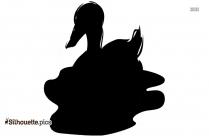 Swan Artwork Silhouette Clipart