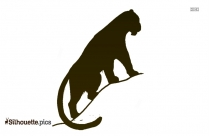 Black And White Tiger Drawings Silhouette