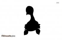 Black Pokemon Elekid Silhouette Image