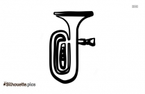 Trumpet Illustration Silhouette Image