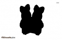 Easter Bunny Silhouette Free Vector Illustration