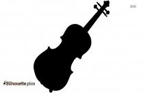 Violin Clipart Silhouette