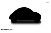 Black Audi R8 Spyder Silhouette Image