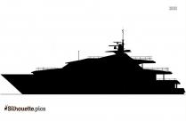 Boat Cartoon Silhouette Art