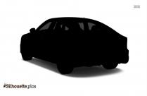 Audi Rs7 Silhouette Art, Luxury Car Clip Art