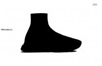 Nike Shoe Silhouette Image Illustration