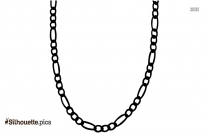 Free Chain Silhouette