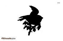 Bird Drawing Silhouette Background Image