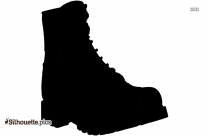Boot Silhouette Drawing