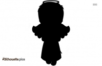 Boy Angel Silhouette Picture