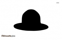 Sports Hat Silhouette Free Vector Art