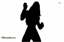 Black Canary Silhouette