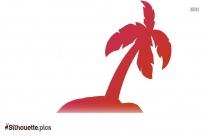 Palm Tree Border Silhouette