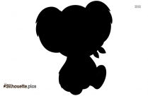 Baby Monkey Lion Clipart Silhouette