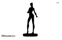 Catwoman Silhouette Icon
