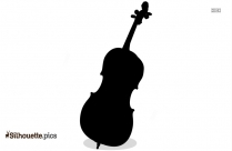 Cello Silhouette Image, String Instrument Free Vector Download