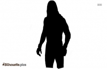 Black Character Jack Rollins Silhouette Image