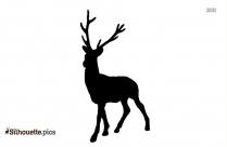 Anime Reindeer Silhouette