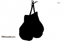 Hand Gloves Silhouette Icon