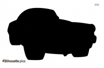 Black Car Silhouette Image