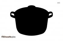 Black And White Kitchen Bowls Silhouette