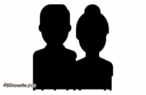 Black Couple Photography Silhouette Image